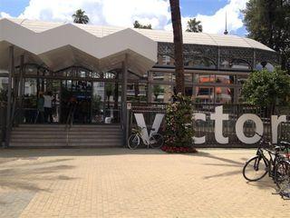 Fachada del Mercado Victoria, recién inaugurado