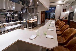 Barra del restaurante Blanca, en Brooklyn