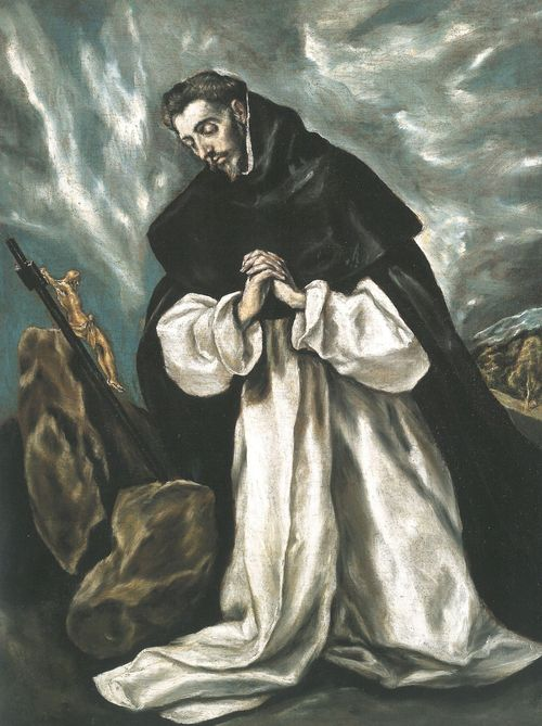 LOT 19,El Greco, St Dominic in Prayer[3]