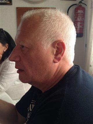 Juan Echanove en el restaurante Venezuela