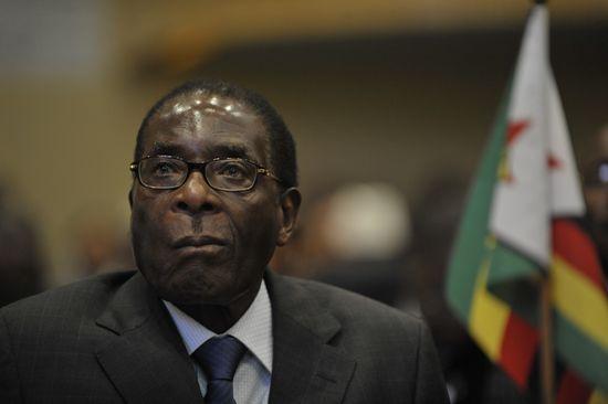 Robert_Mugabe,_12th_AU_Summit,_090202-N-0506A-187
