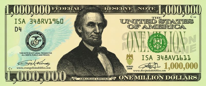 Un millon de dolares
