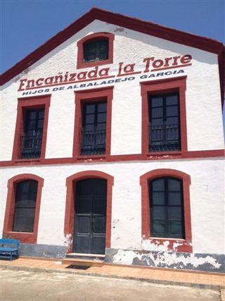 Casa de pescadores junto a las encañizadas que por concesión administrativa gestionan los hermanos Albadalejo