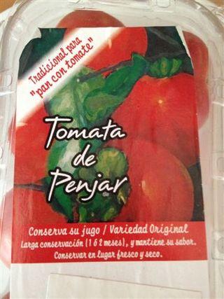Tomates de larga duración, de uno a dos meses, incluso fuera de la nevera. Lo dice la etiqueta