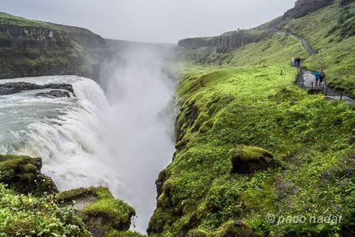 Cataratas islandia, Gullfoss