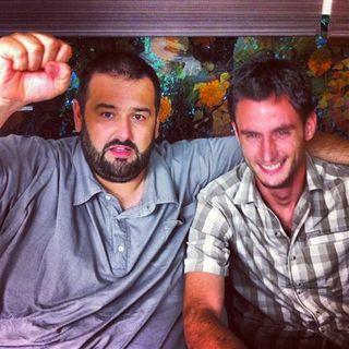 David de Jorge con Rubén Valbuena