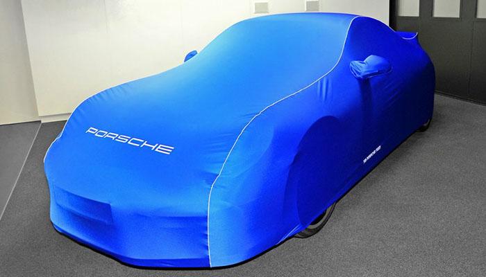 Porsche con funda