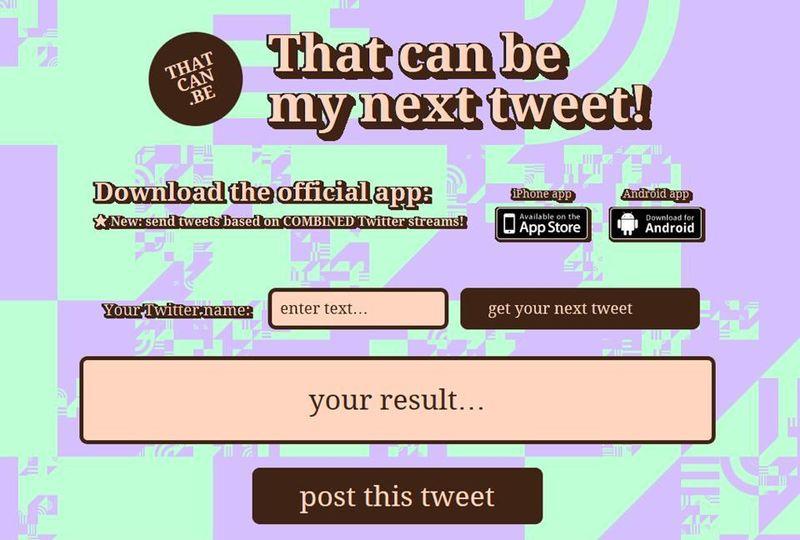 Este podría ser tu próximo tuit o como perder el tiempo con tonterías >> Mil millones de vecinos >> Blogs EL PAÍS
