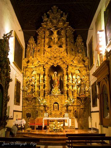 Retablo barroco del convento