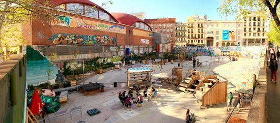 El Campo de Cebada Madrid