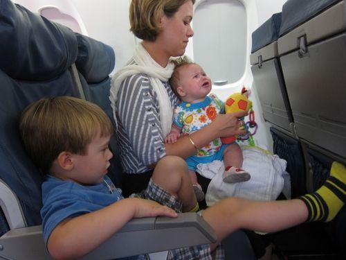 Aviones con zonas sin niños