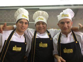 Equipo de cocina de El Chinito