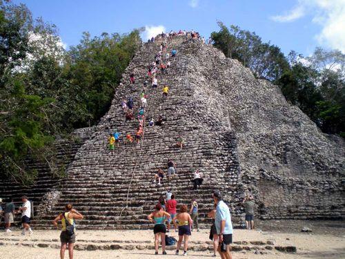 Subiendo pirámides