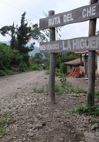 Ruta turística en La Higuera.