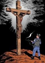 Cristo fusilado