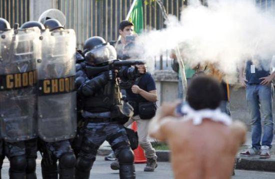 Violencia policial en las favelas
