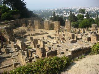 Cartage-ruins