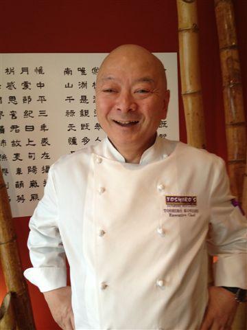 El veterano Toshiro Konishi, muy conocido en España, cuyo restaurante Toshiro´s en Lima sigue fiel a su estilo de siempre