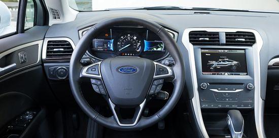 Ford Fusion salpicadero