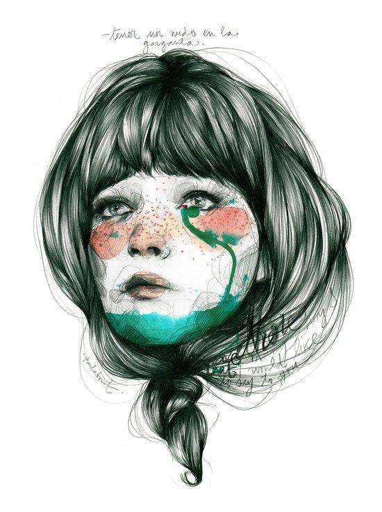 Nus a la gola, de Paula Bonet