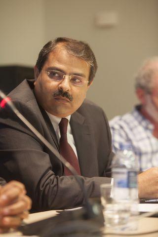 El embajador egipcio en España, Ayman Zaineldin / Foto: Casa Árabe / Laura Martínez Lombardía.