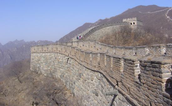 La muralla china (foto de Carlos Arroyo)