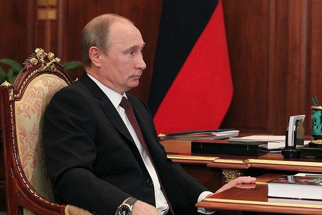 Putin durante entrevista con Fortov 3 julio 2013