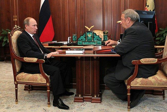 Putin y Fortov 3 julio 2013