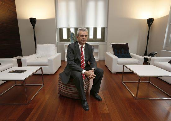 El director de Casa Árabe, Eduardo López Busquets / Foto: Kike Para