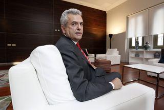 López Busquets, en Casa Árabe / Foto: Kike Para