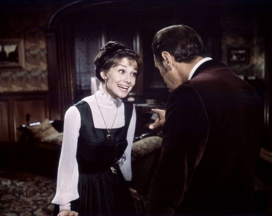 Audrey Hepburn y Rex Harrison, en My Fair Lady