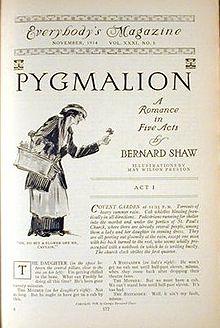 Libreto de la obra teatra de George Bernard Show