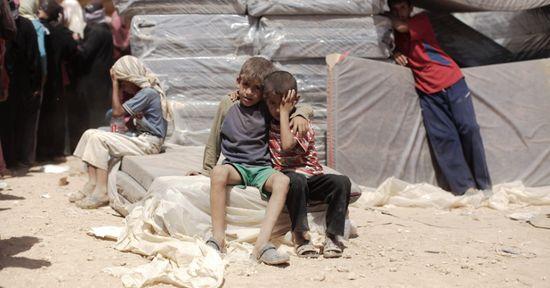 Niños dejan siria (4)