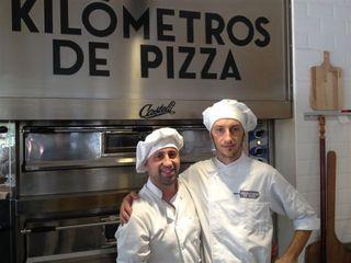 Dos maestros del horno en Kilómetros de Pizza