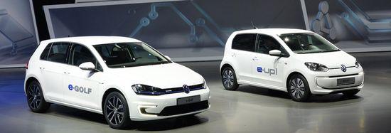 VW e-Golf y e-Up!
