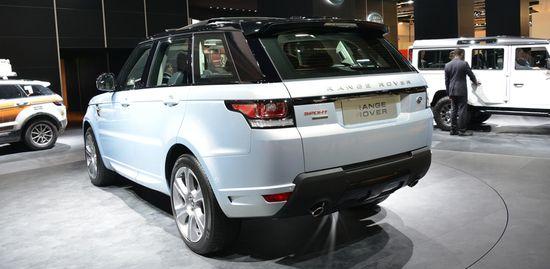 Range Rover Hybrid / Newspress