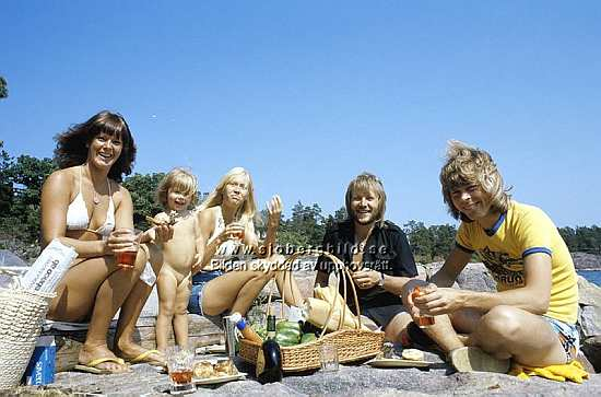 ABBA on summer '75