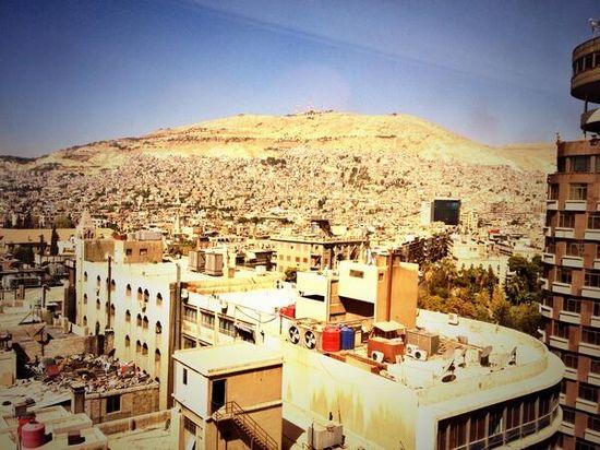 Damasco, este jueves / Foto: D. A.