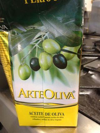 Aceite refinado de oliva que Crispi utiliza para sus tortillas
