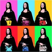 POP ART-GIOCONDA