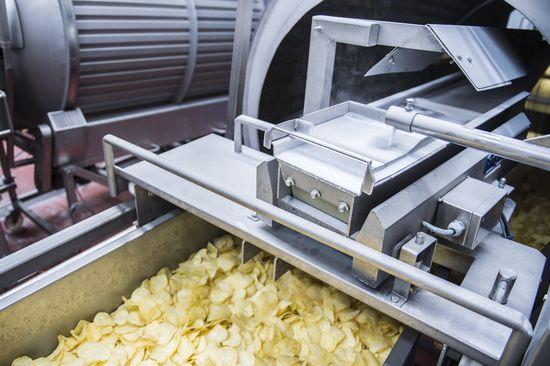 Patatas fritas light