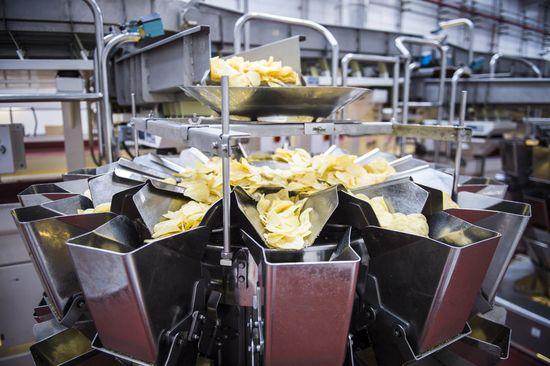 Envasadora patatas fritas
