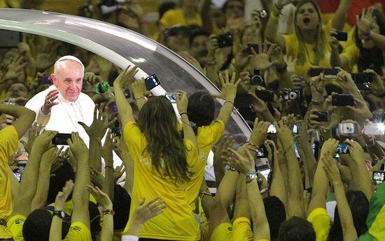 El Papa Francisco arrasa