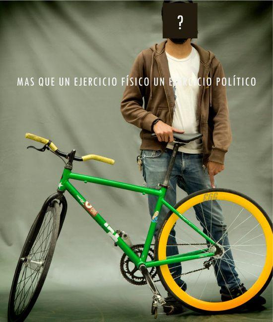 Activismo y bicicleta