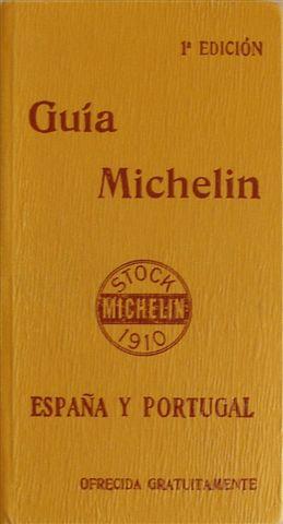 Guía Michelin editada en España en 1910. Primera edición. Solo existen 6 volúmenes. Si saliera a subasta uno de ellos se pagarían 12.000 euros