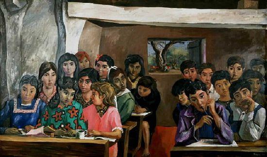 Antonio-berni-escuelita-rural-1954