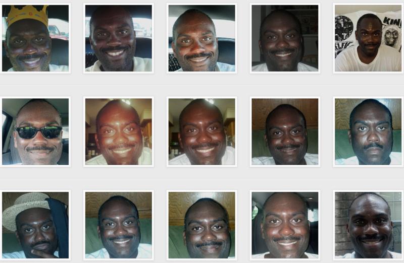Instagram foto de cara desplegadas
