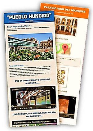 """Guías turísticas: """"Pueblo hundido"""" y  Palacio del Marqués de Santa Cruz, subtitulada """"Un Palacio repleto de arte"""""""