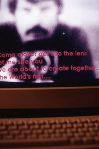 Douglas Davies - The World First Collaborative Sentence. Detalle