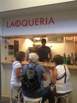 La mayoría de los clientes de La Coquería son extranjeros